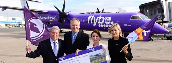 First of Flybe's Brand New Routes