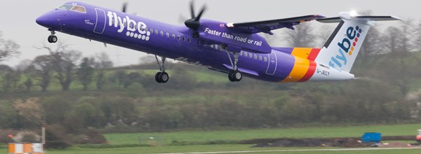 FlyBe announces eight new routes