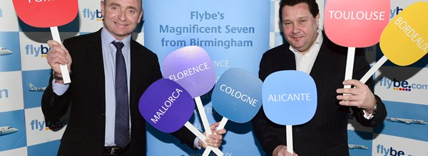 FlyBe major expansion at BHX