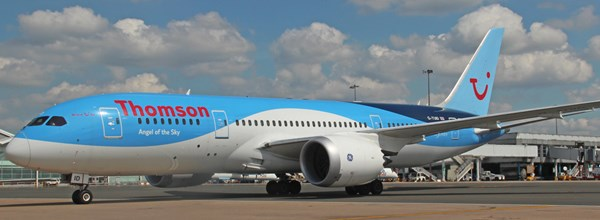 Inaugural Thomson Airways Dreamliner