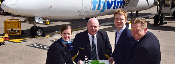VLM Airlines inaugural Waterford