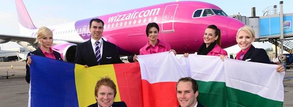 Wizz Air 3 New Routes