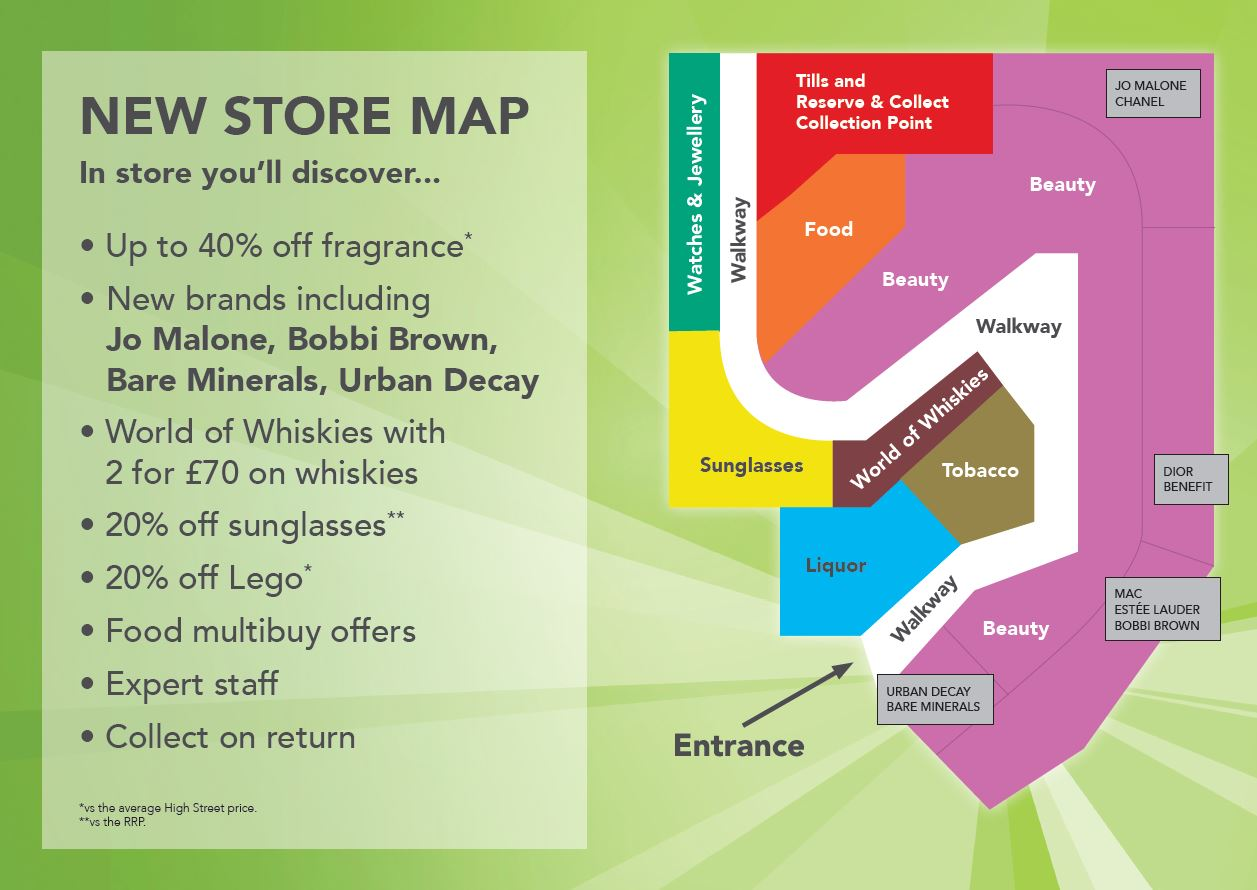 New store map