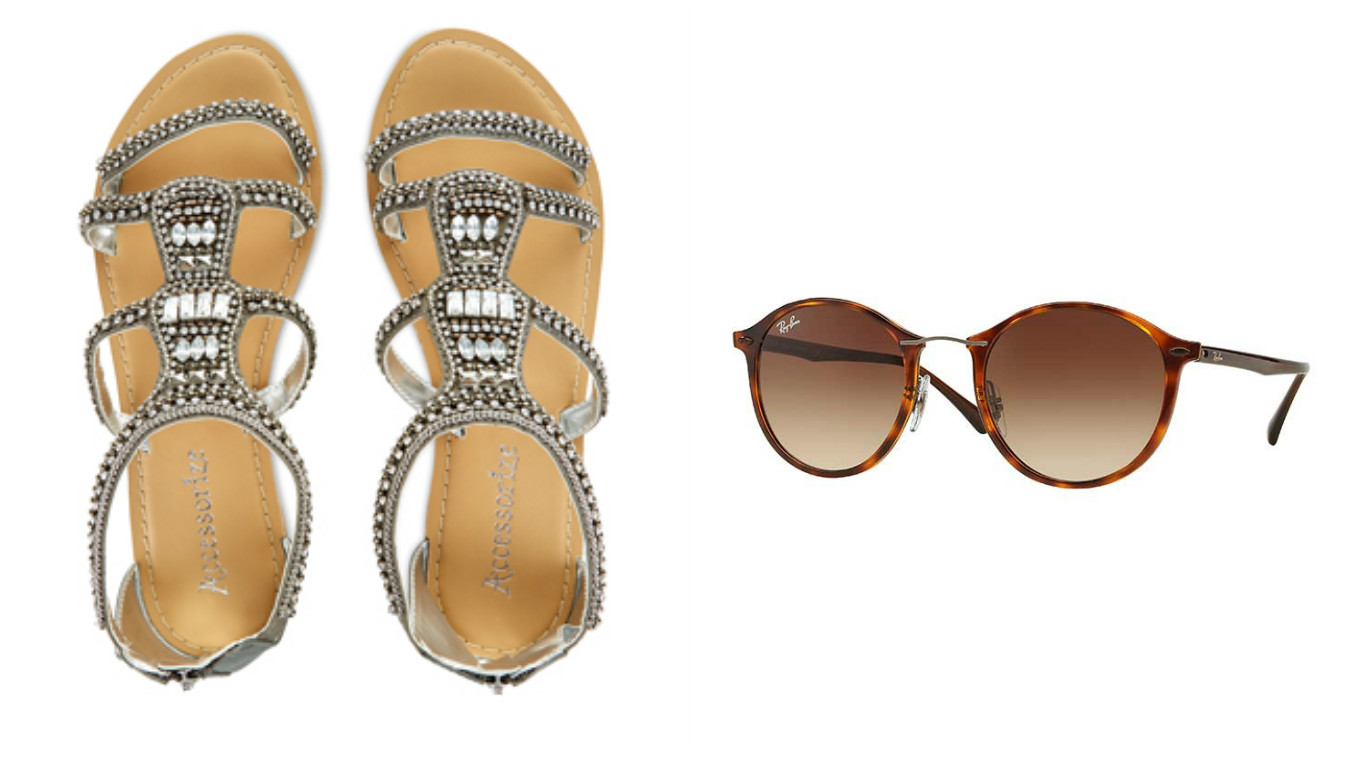 Sandals and Sunglasses