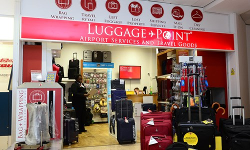 Luggage Point - Birmingham Airport Website