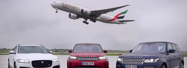 Emirates and JLR