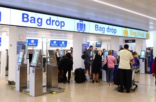 Bag Drop Area