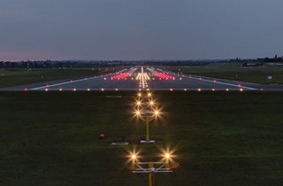Runway at Night