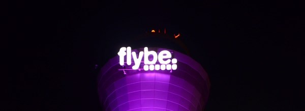 Flybe Tower Light Up