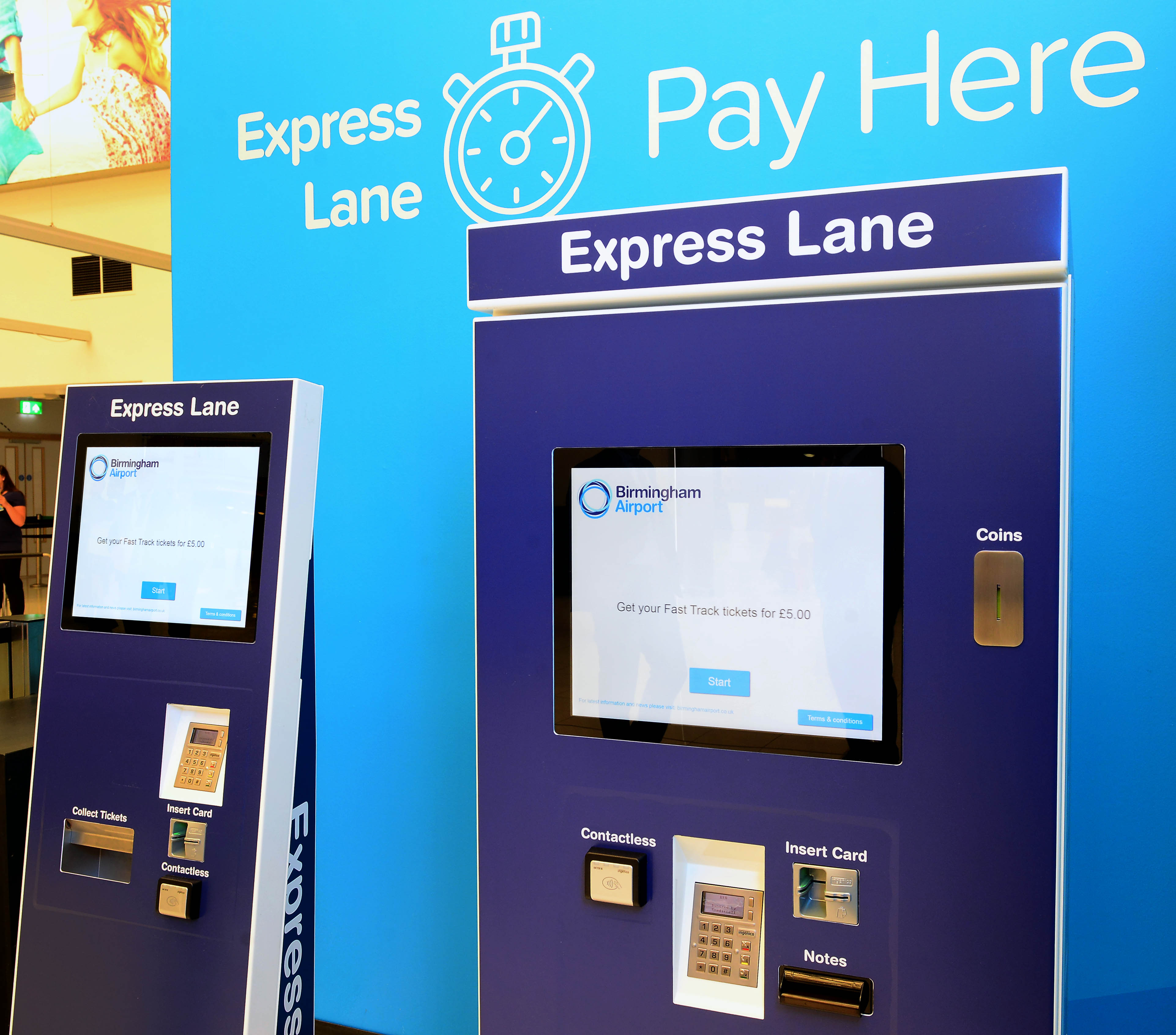 Express Lane Security Birmingham Airport Website
