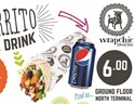 wrapchic- Burrito and drink deal