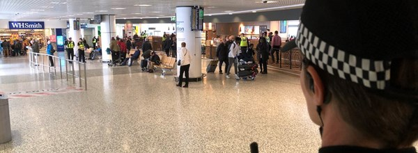 Hello World - Birmingham Airport Website