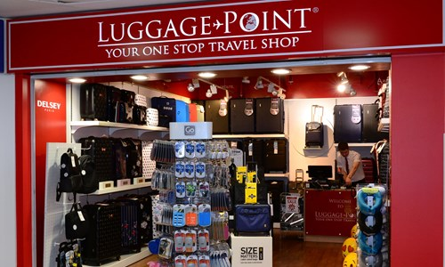 Luggage point retail