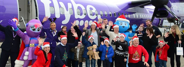 Flybe Santa Flight