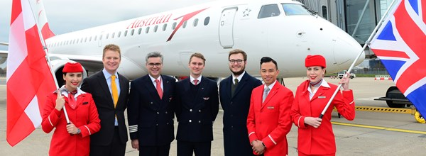 AUSTRIAN AIRLINES LAUNCHES NEW ROUTE FROM BIRMINGHAM AIRPORT