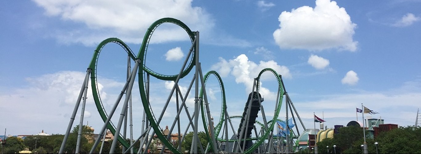 Riding roller coasters in Orlando is one of the best adventure holidays you can go on.